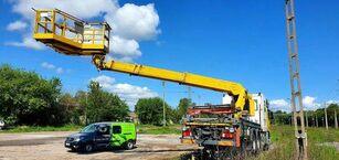 MERCEDES-BENZ 3344 SRT SCHÖRLING Road Rail Railway Zweiweg bucket truck