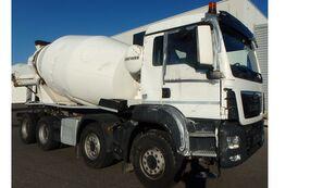 Liebherr HTM 1005F  on chassis MAN TGS 41-420 8x4  Betonnmischer Liebherr HTM 1005F  Unfallschaden concrete mixer truck