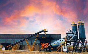 new FABO TURBOMİX 100 CE QUALITY NEW GENERATION MOBILE CONCRETE MIXING PL concrete plant