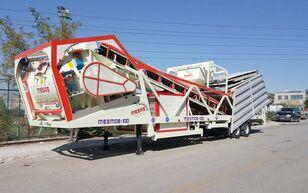 new MESAS 100 m3/h MOBILE Concrete Batchıng Plant concrete plant