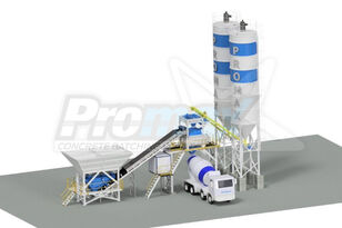 new PROMAX Compact Concrete Batching Plant C100-TWN PLUS concrete plant