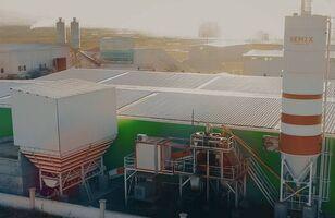 new SEMIX Stationary 100 STATIONARY CONCRETE BATCHING PLANTS 100m³/h concrete plant