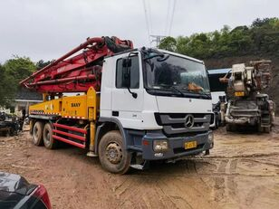 Sany SY5295THB on chassis MERCEDES-BENZ SY5271THB concrete pump