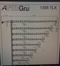 FMGru TLX 1355 tower crane